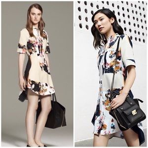 3.1 Philip Lim for Target floral print shirt dress